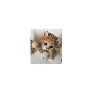 まねき猫 ブラウン