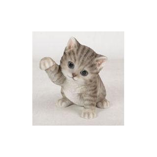 まねき猫 グレー
