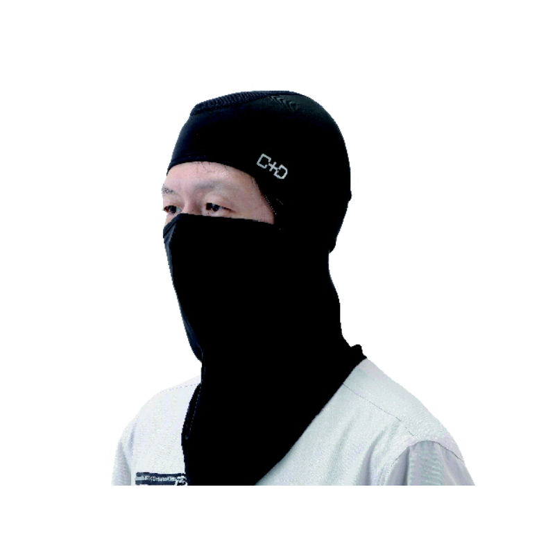 冷感フェイスカバー ブラック