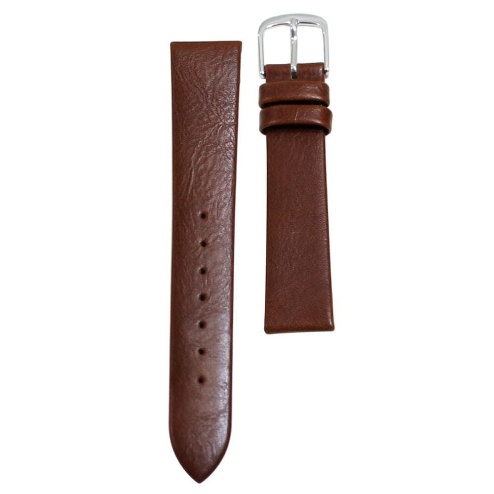クレファー 腕時計用 皮バンド 合皮 茶 13mm L-39 BLPE012
