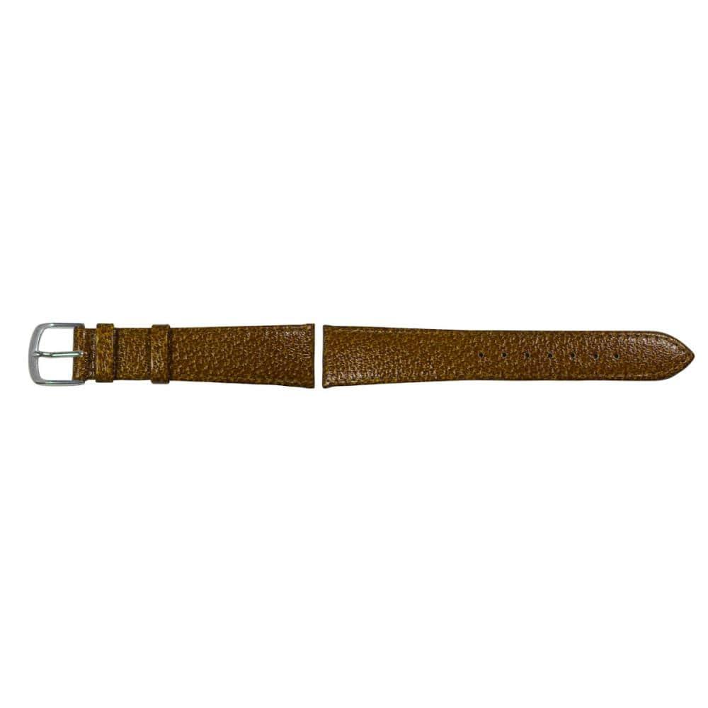 クレファー 腕時計用 皮バンド 豚皮 濃茶 18mm L-83 BLPG013