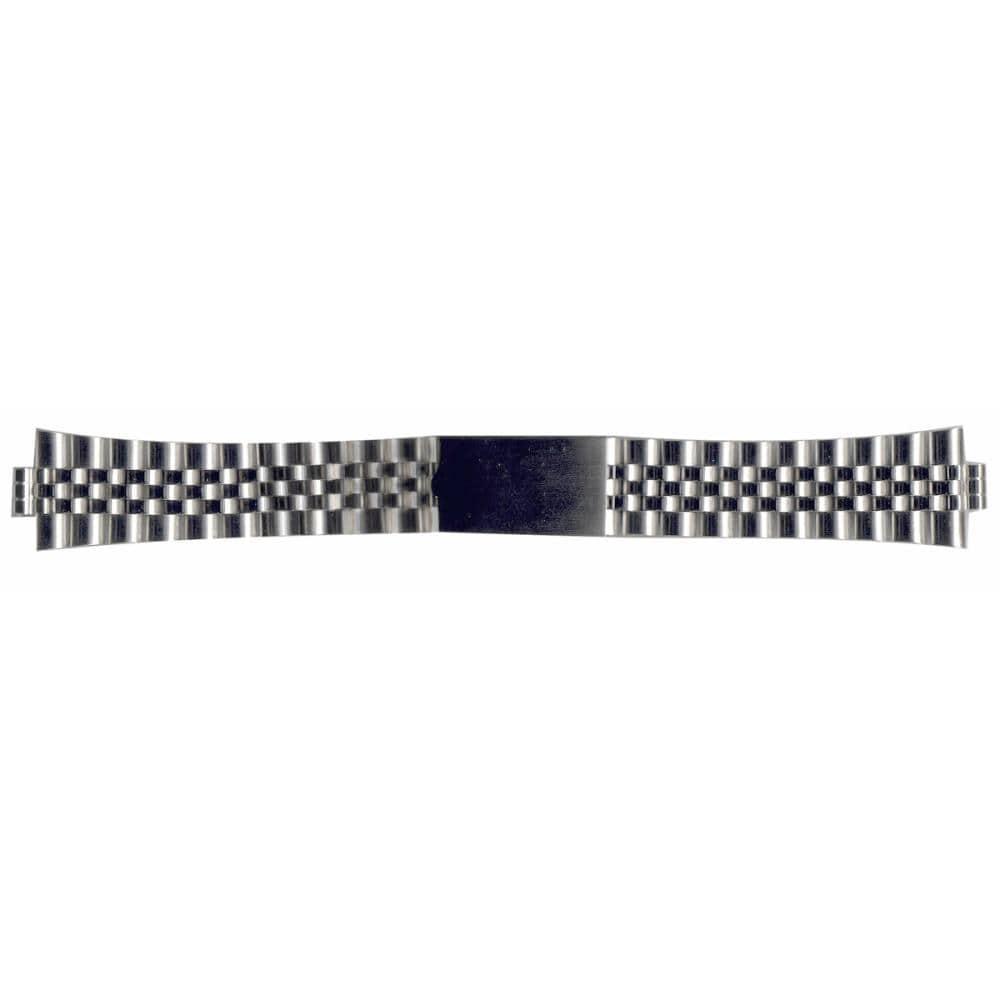 クレファー 腕時計用 メタルバンド ステンレス 銀 18~20mm M-21