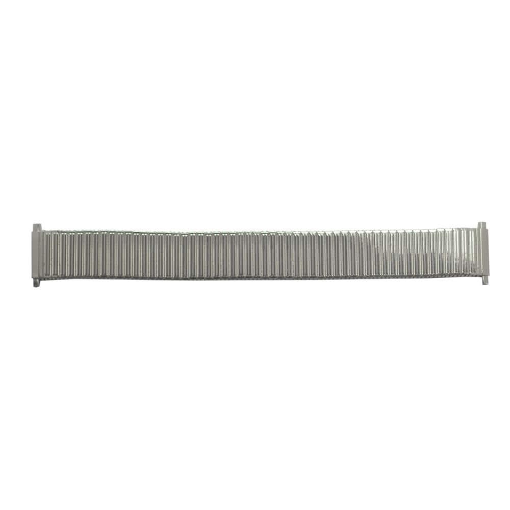 クレファー 腕時計用 メタルバンド ステンレス 銀 17~20mm M-12