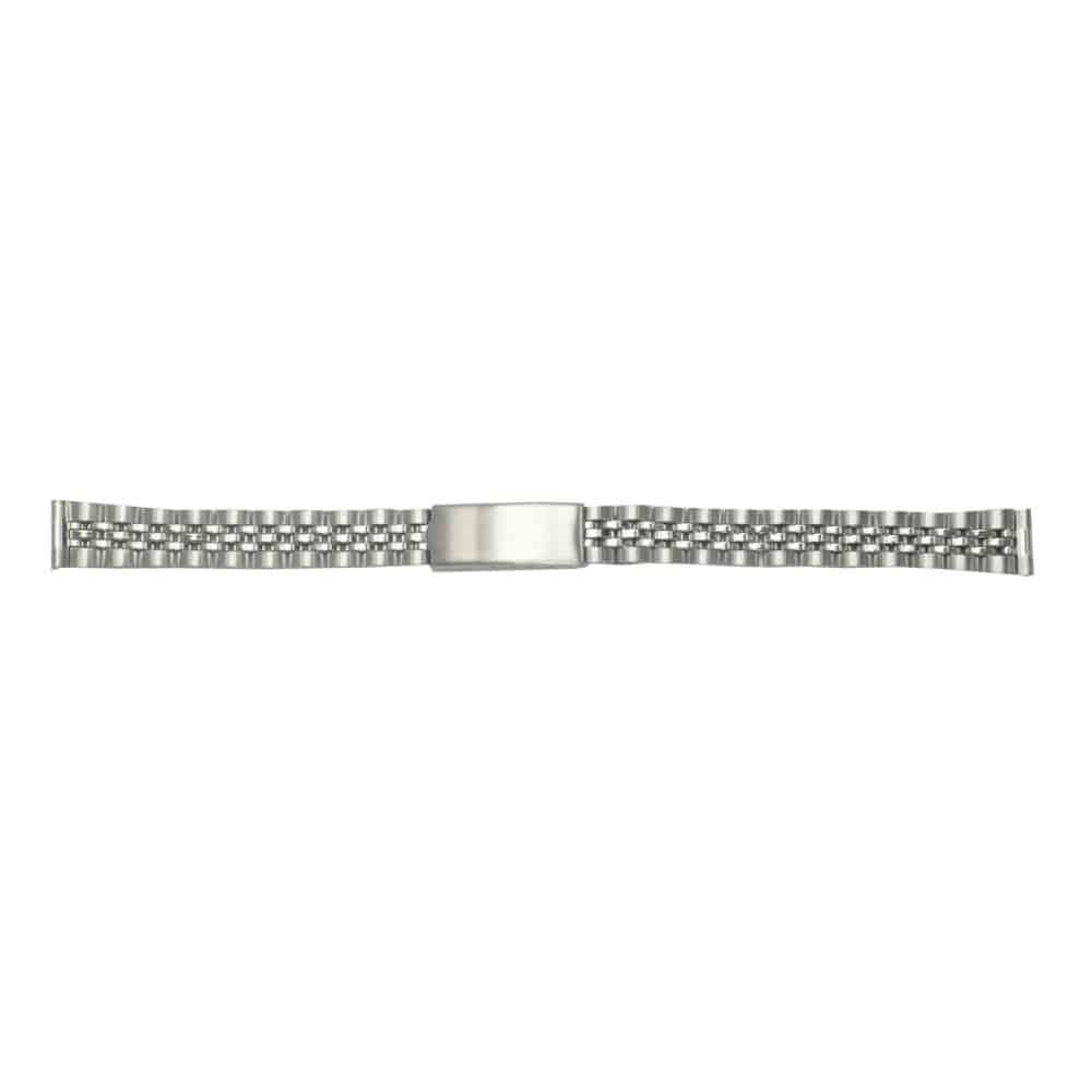 クレファー 腕時計用 メタルバンド ステンレス 銀 12~13mm M-5