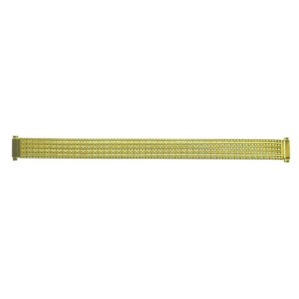 クレファー 腕時計用 メタルバンド ステンレス 銀/金 10~13mm M-2