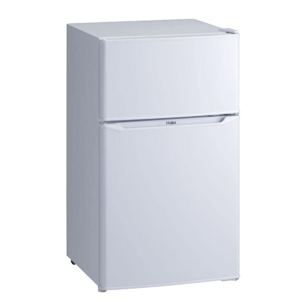ハイアール 2ドア冷蔵庫 85L ホワイト JR-N85C(W)