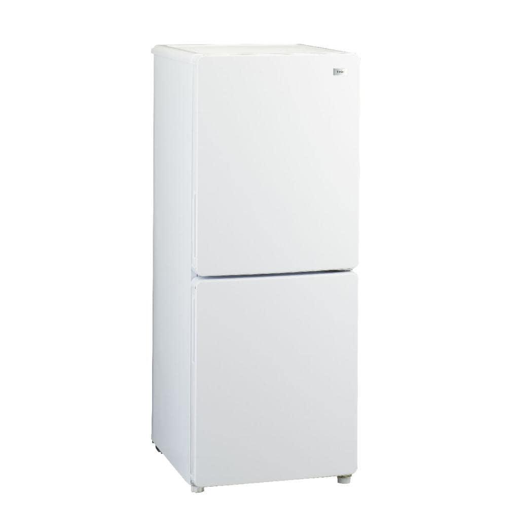 ハイアール 2ドア冷蔵庫 148L ホワイト JR-NF148B(W)