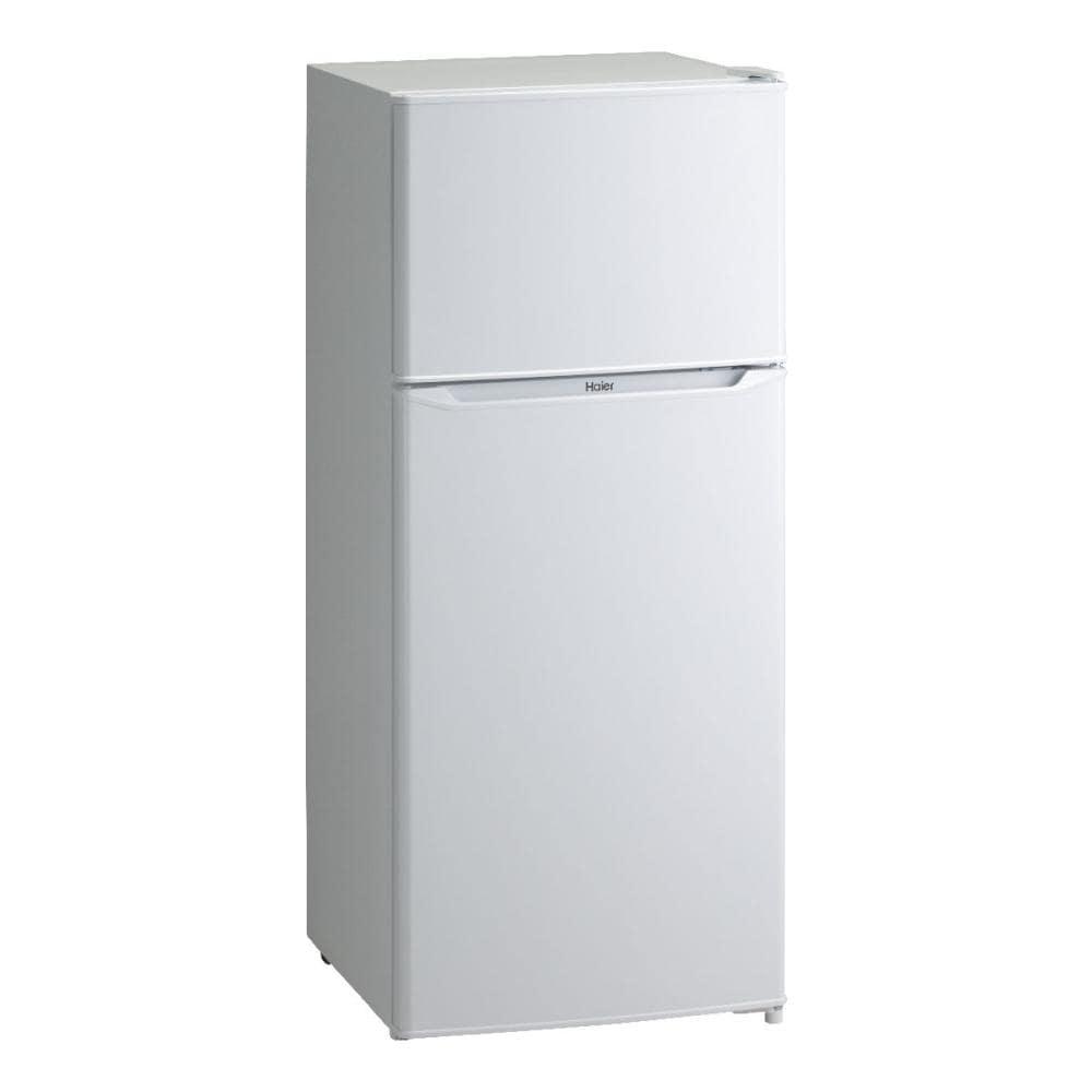 ハイアール 2ドア冷蔵庫 130L ホワイト JR-N130A(W)
