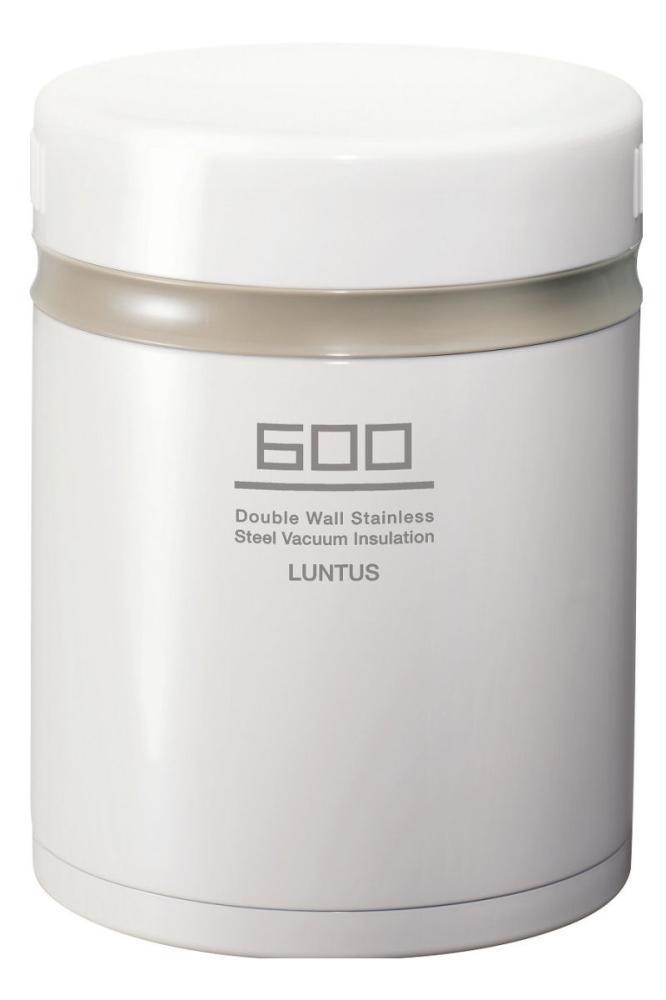 ランタスBS 保温ランチ HLB-B600 ホワイト