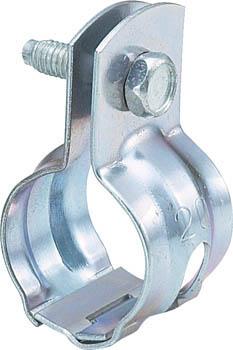 TRUSCO パイプ用支持金具 吊バンド 組式 適用径20A_