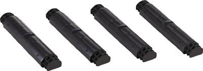 TRUSCO プラ棚用 脚のみ4本セット 高さ515mm用 黒_