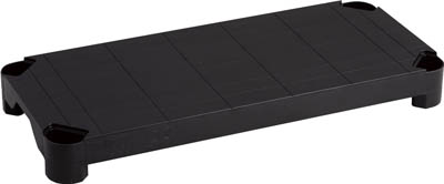 TRUSCO プラ棚用 棚板軽量型 800X350 黒_