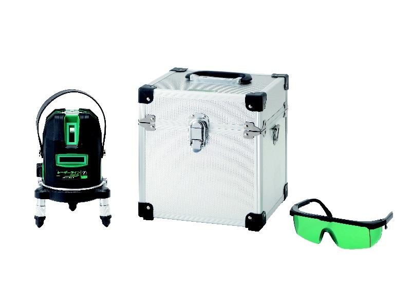 プロ用レーザー墨出器 グリーン RZ-LXG5