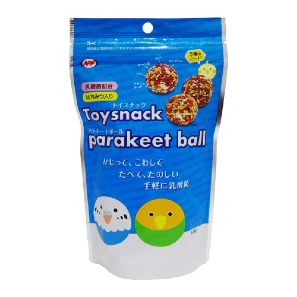 トイスナック パラキートボール 6個
