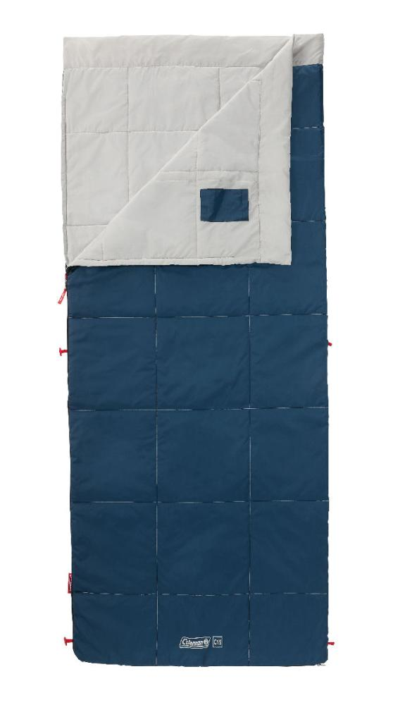 コールマン 寝袋 パフォーマー3/C15 ホワイトグレー