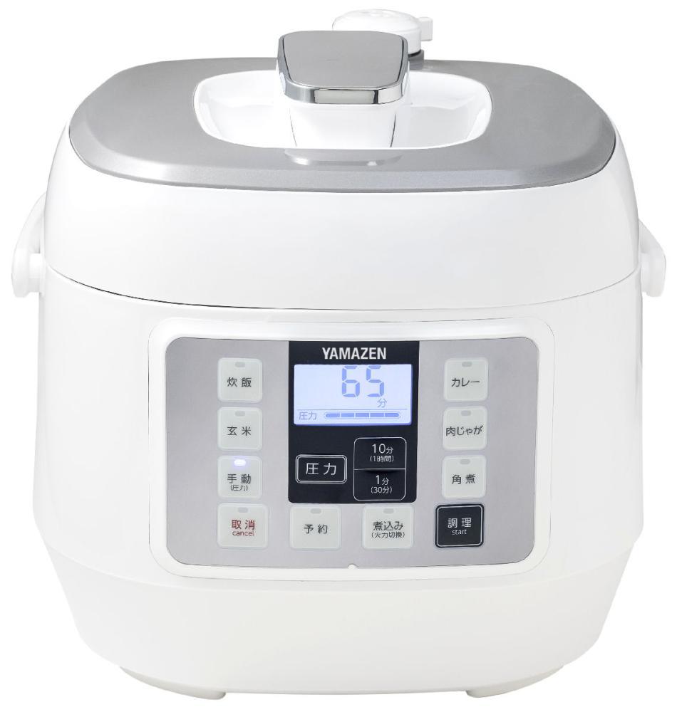 電気圧力鍋 ホワイト YPCA-M250(W)