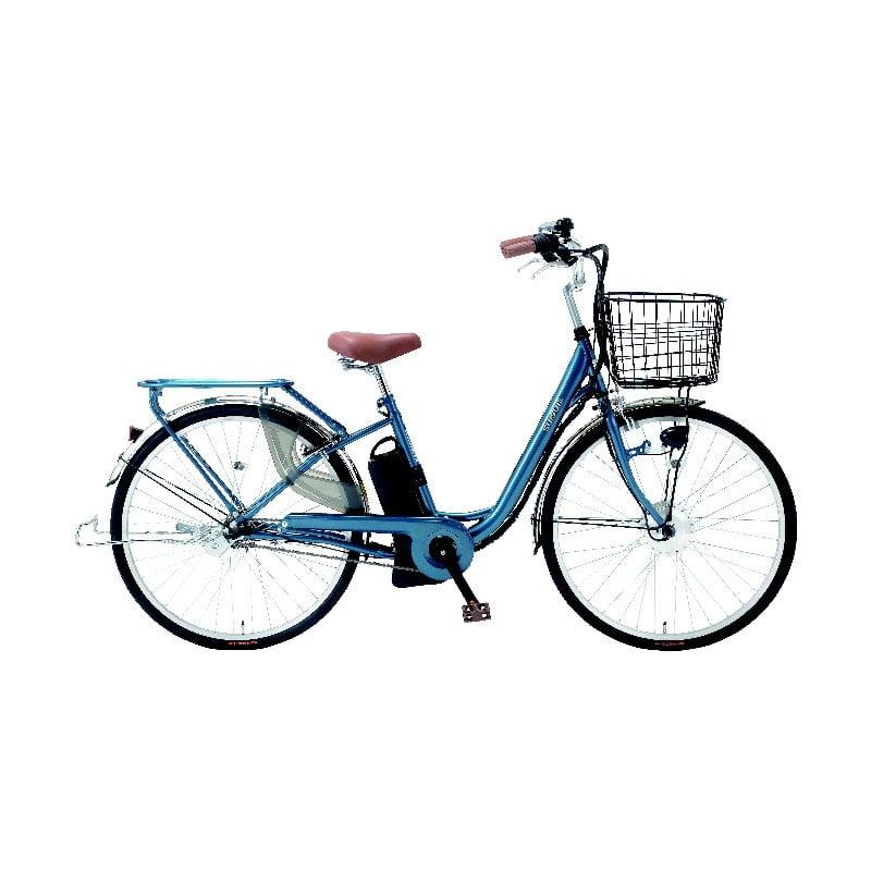 電動アシスト自転車 26インチ ネイビー 263k19