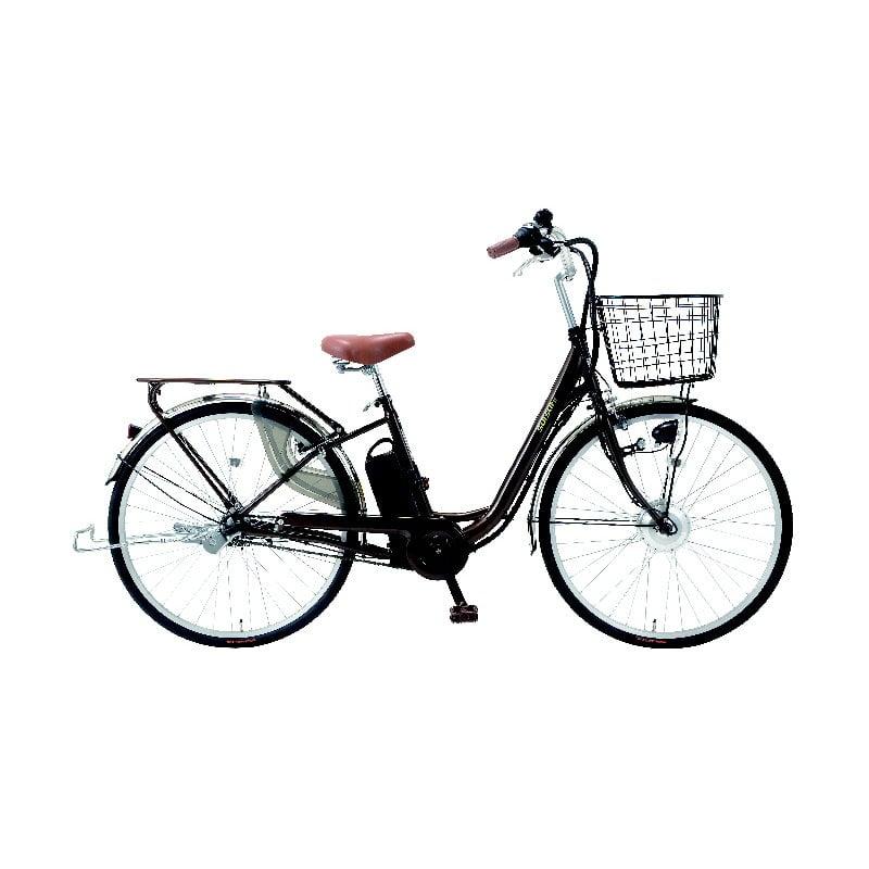 電動アシスト自転車 SUISUI(スイスイ) 26インチ ブラウン