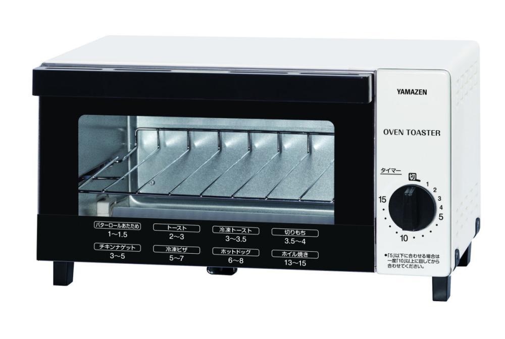 オーブントースター ホワイト KTB-100(W)