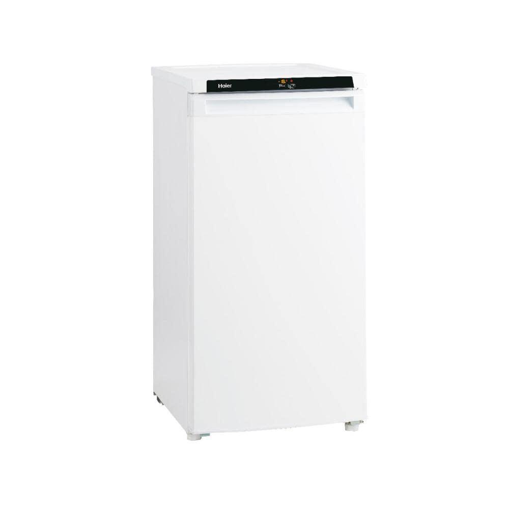 ハイアール 前開き冷凍庫 102L ホワイト JF-NU102B(W)