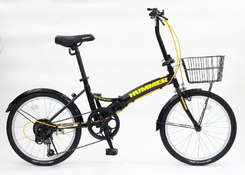 HUMMER(ハマー) 折り畳み自転車 ブラック 206J19