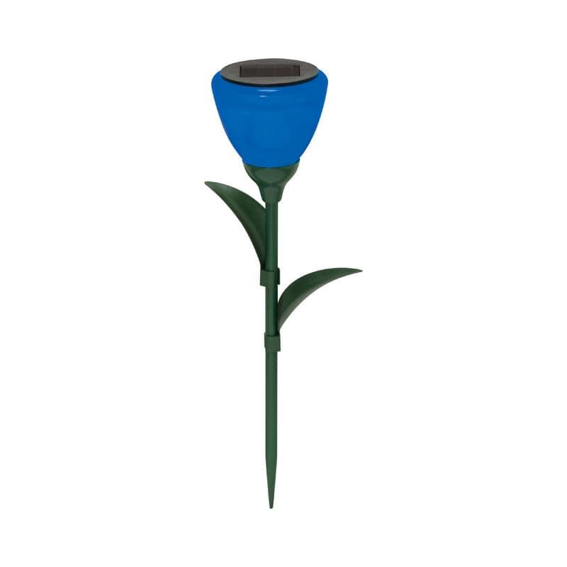 ソーラーフラワーライト ブルー KM-9106