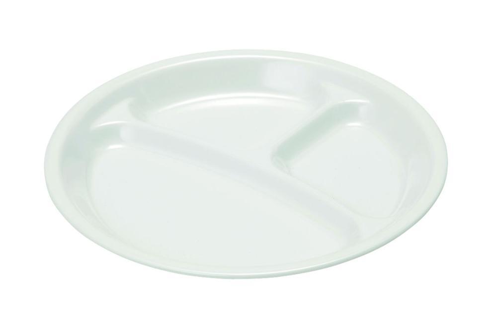 軽くて丈夫な メラミンランチ皿27cm