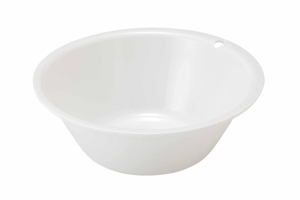AL湯桶フック穴付 ホワイト