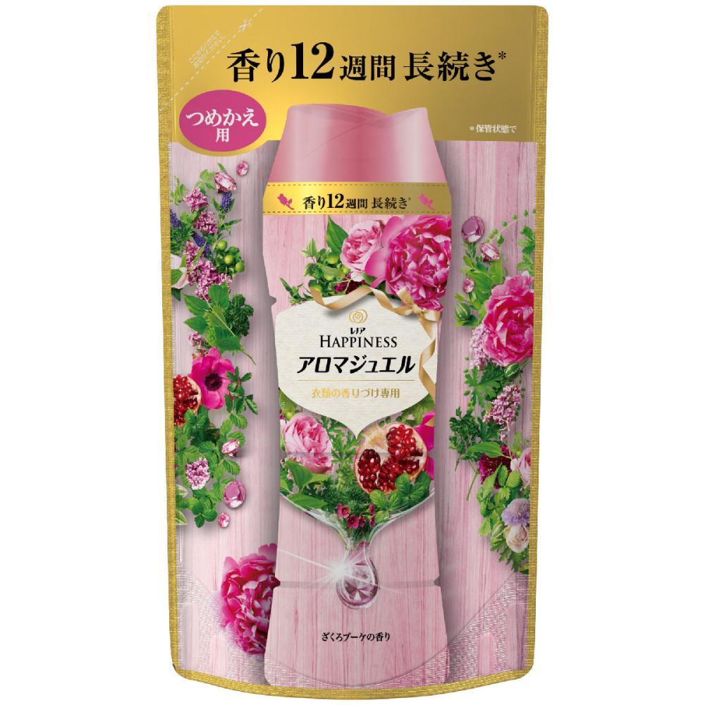P&G レノアハピネス 香り付け専用ビーズ アロマジュエル ざくろブーケ 詰替用 455ml