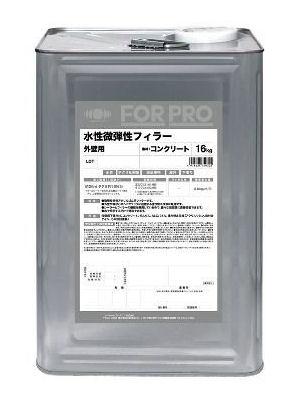 業務用塗料 FORPRO 水性微弾性フィラー 白 16kg