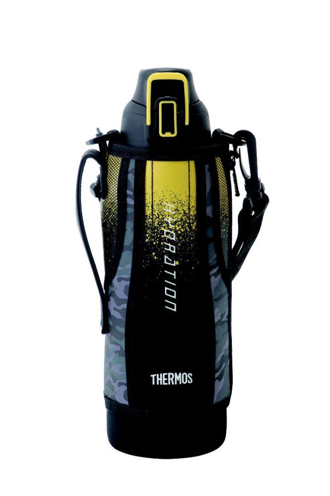 真空断熱スポーツボトル 1500ml ブラックカモフラージュ FHT-1500F BK-C