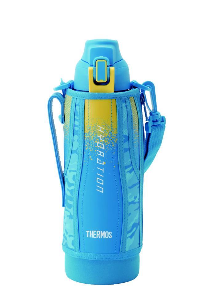 真空断熱スポーツボトル 1500ml ブルーカモフラージュ FHT-1500F BL-C