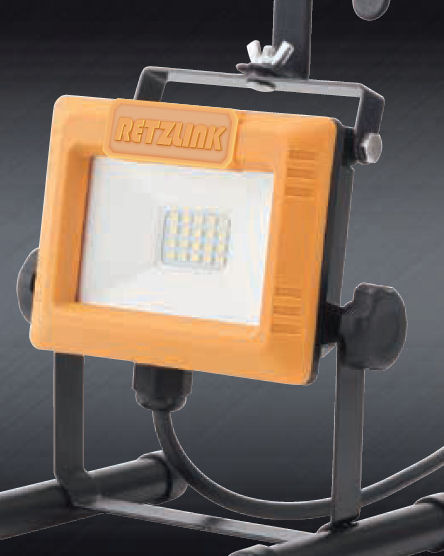 スリムLED投光器 10W イエロー SRP