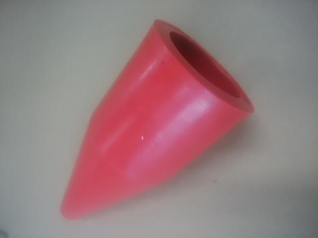 クリップ50A用カバー赤 C-610CR