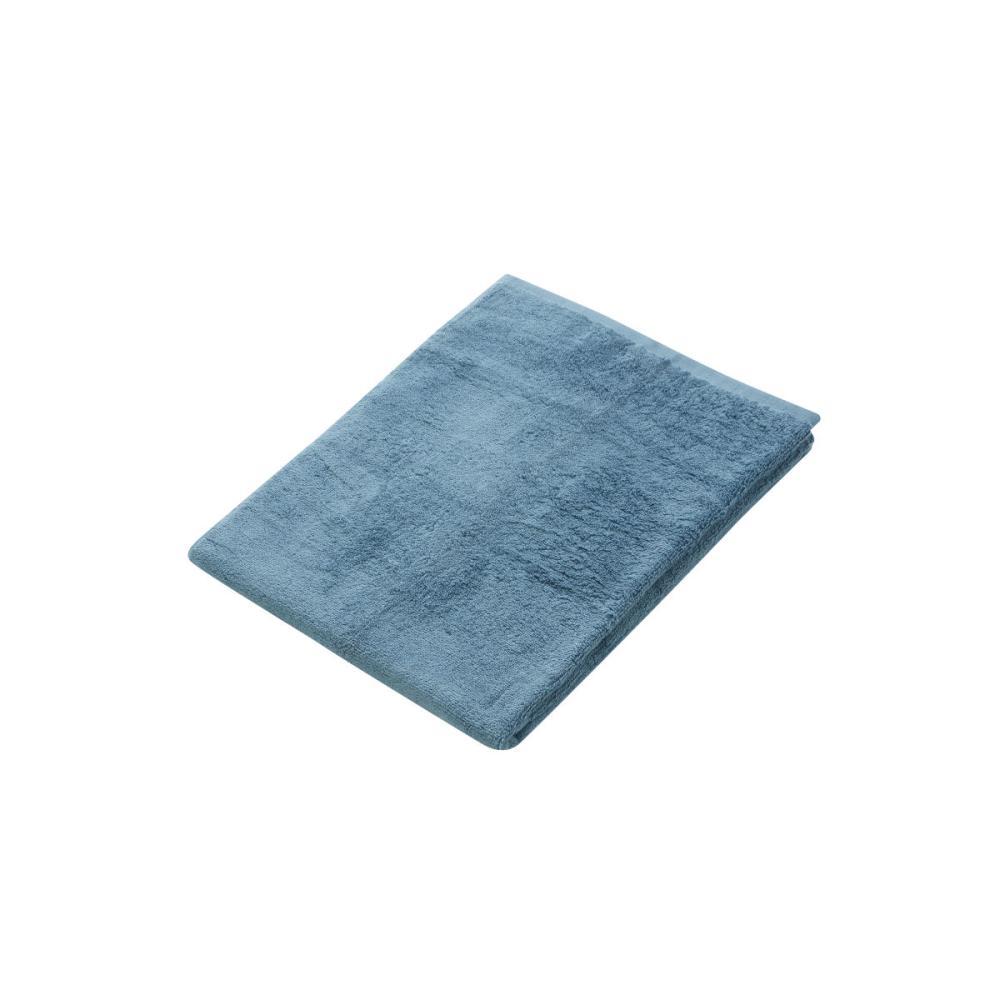 アテーナライフ バスタオル やわらかタオル ターコイズブルー 60×120cm