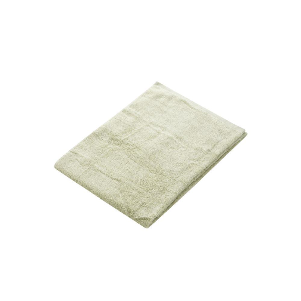アテーナライフ バスタオル やわらかタオル グリーン 60×120cm