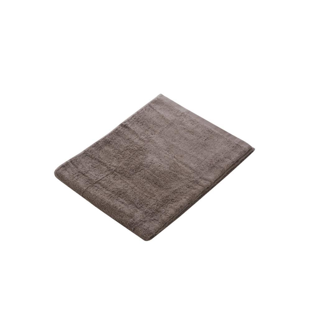 アテーナライフ バスタオル やわらかタオル ダークブラウン 60×120cm