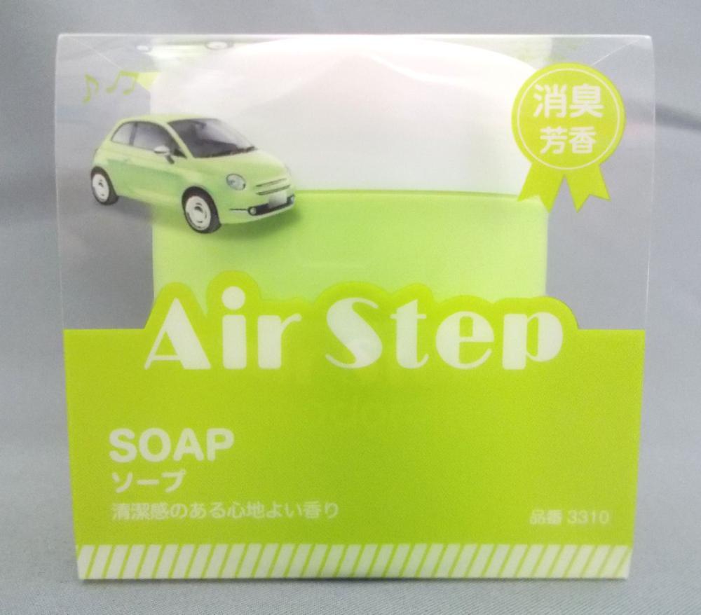 消臭・芳香剤 エアステップ ソープ 100g
