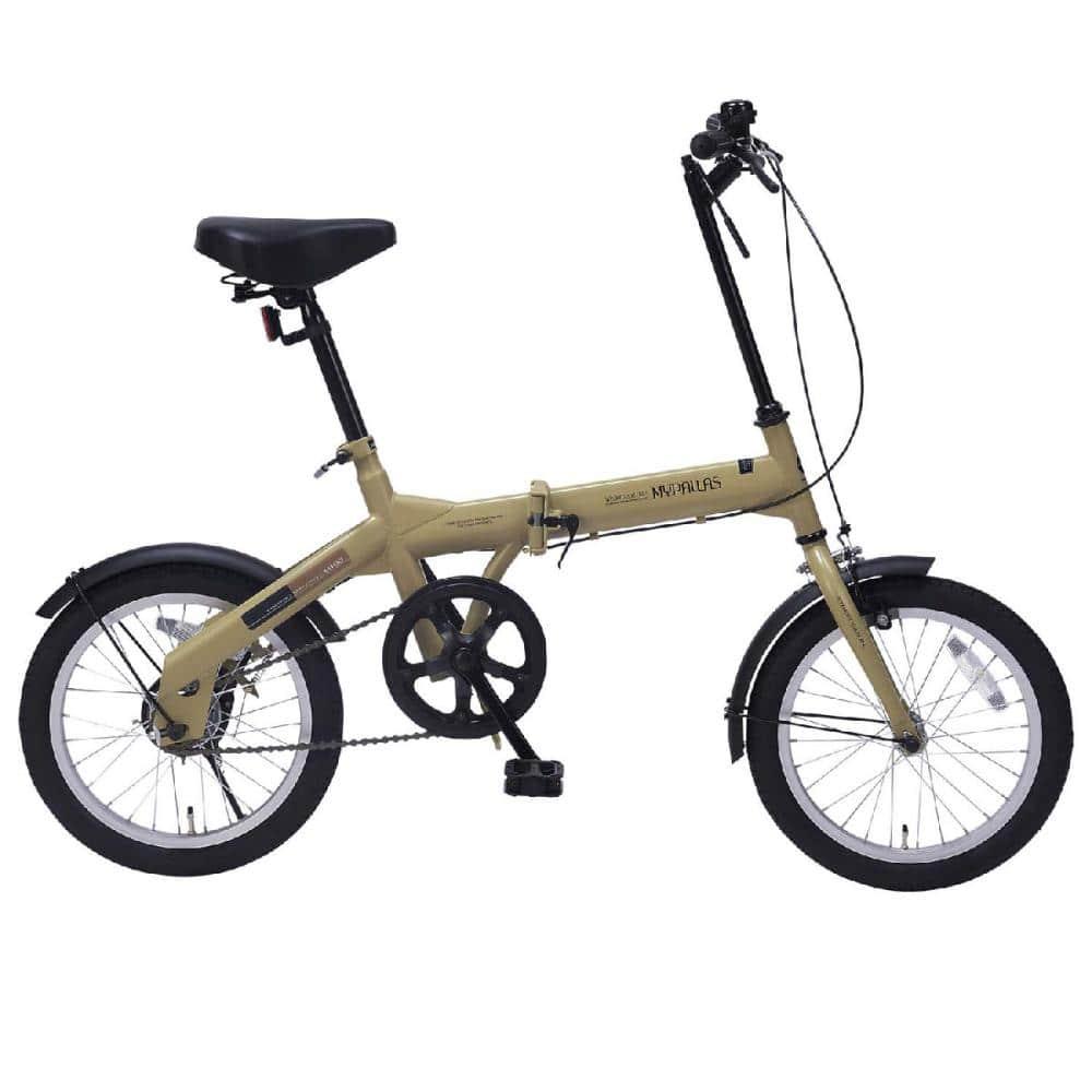 マイパラス 折畳自転車 16インチ カフェ M-100