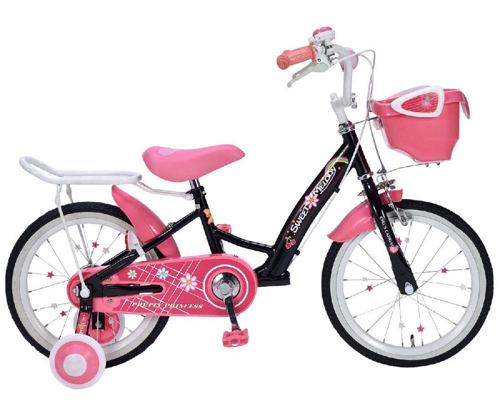 マイパラス 子供用自転車16・補助輪付き MD12 A
