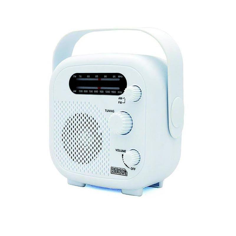 ヤザワ シャワーラジオ ホワイト SHR02WH