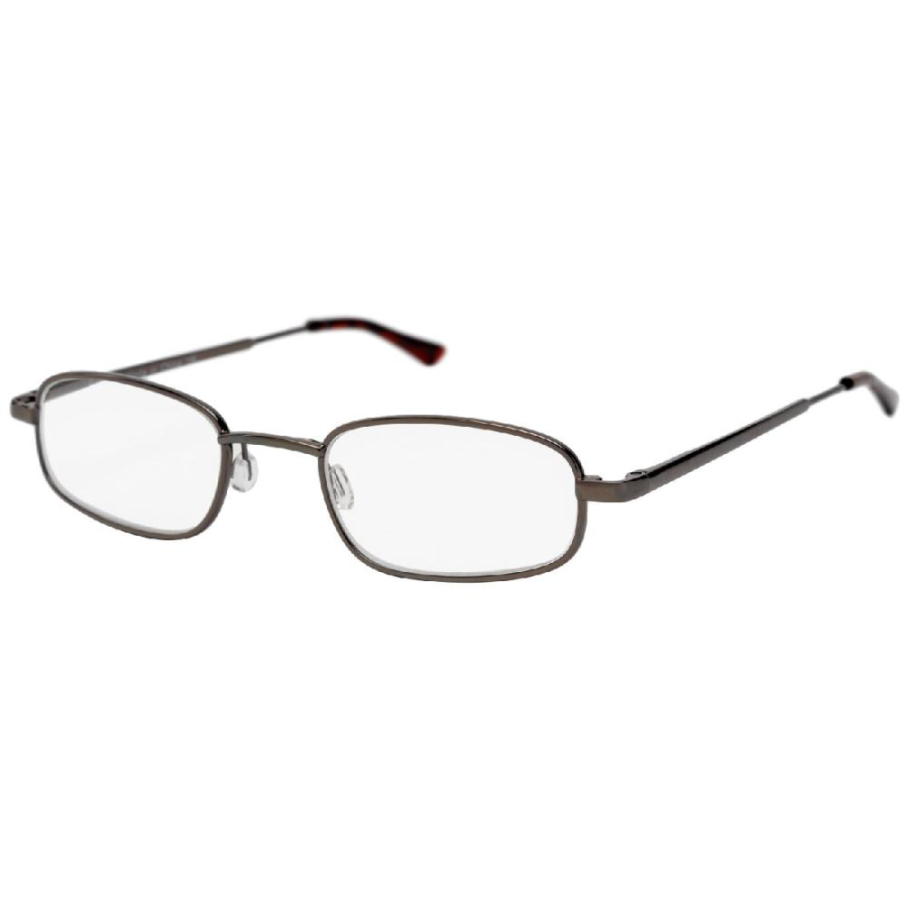 コンパクト携帯老眼鏡 メタルフレーム ハードケース付き KRG-FM22C 各種