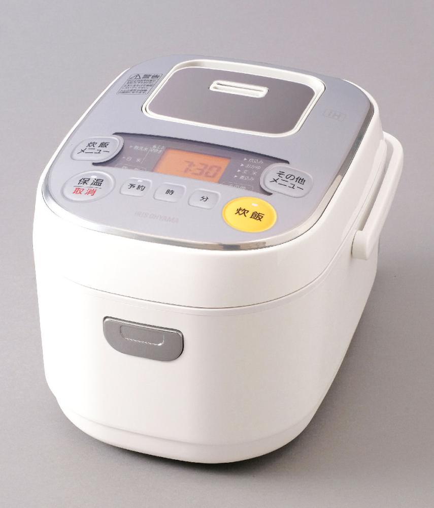 アイリスオーヤマ IHジャー炊飯器 3合 ホワイト ERC-IE30-W