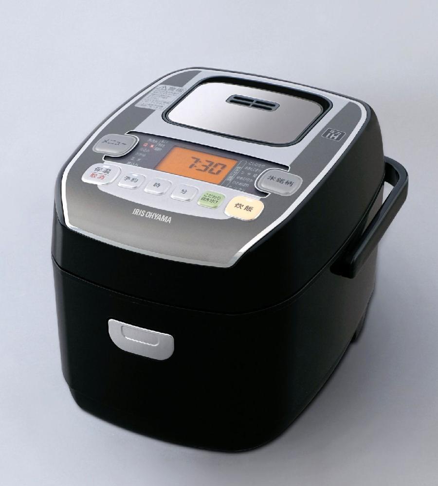 アイリスオーヤマ 銘柄炊き 圧力IHジャー炊飯器 3合 ブラック RC-PA30-B