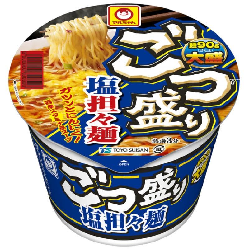 東洋水産 マルちゃん ごつ盛り 塩担々麺 112g