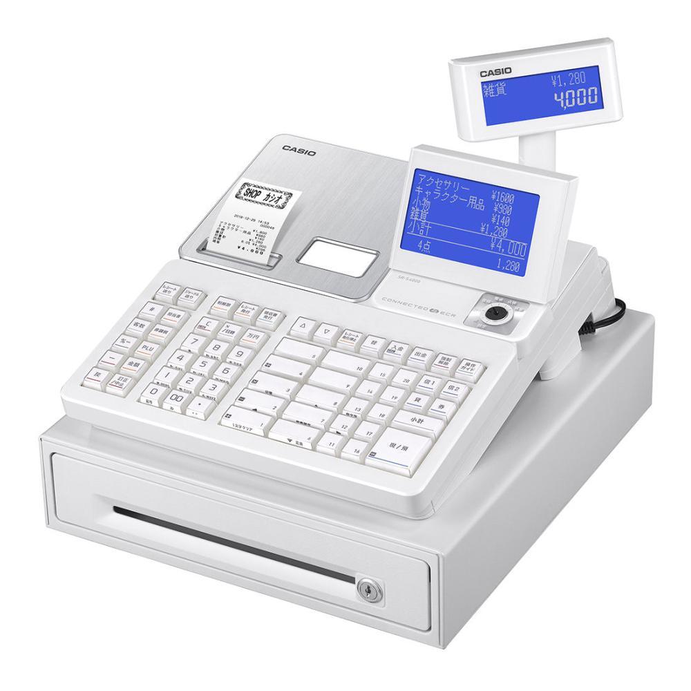 カシオ Bluetooth対応 電子レジスター SR-S4000-20SWE