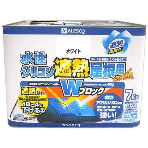 水性シリコン遮熱 7kg ホワイト