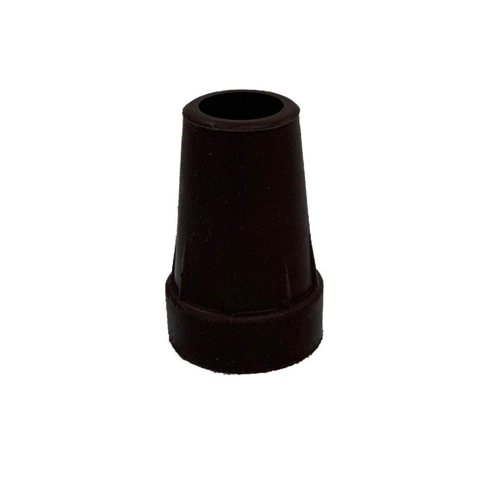 伸縮・折畳ステッキ 直径16mm用替ゴム ブラウン