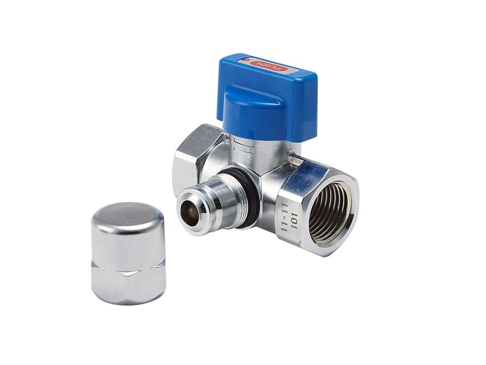 検査孔付I型可とう管ガス栓LPG用 GB341PZ
