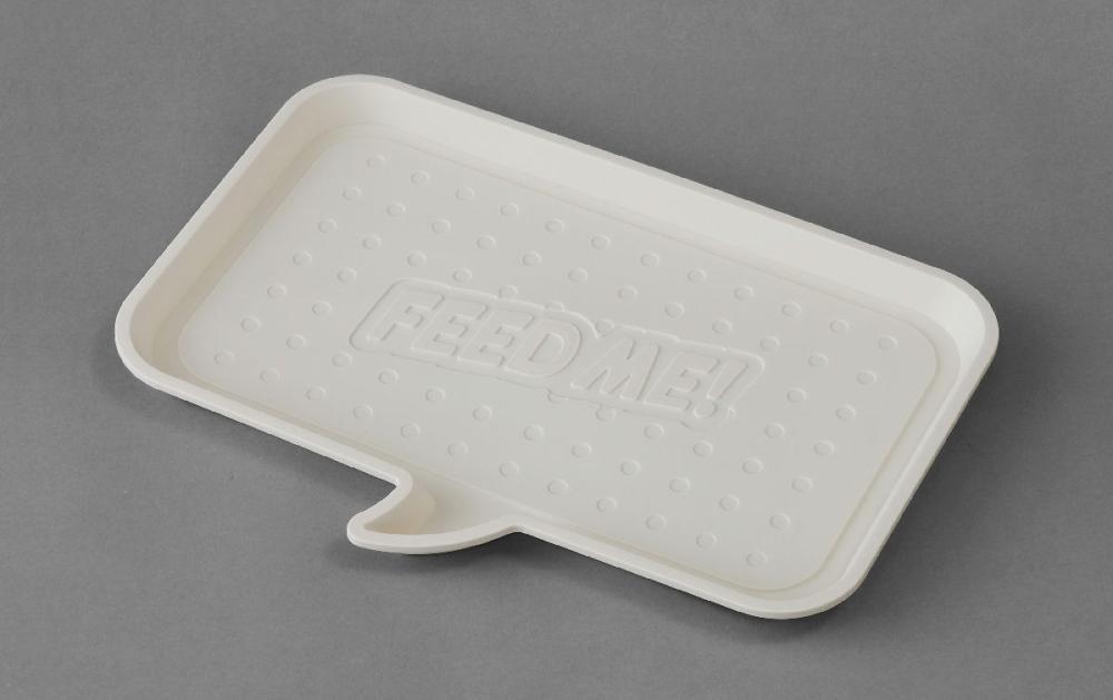 ペット食器用トレー アイボリー PFT-450